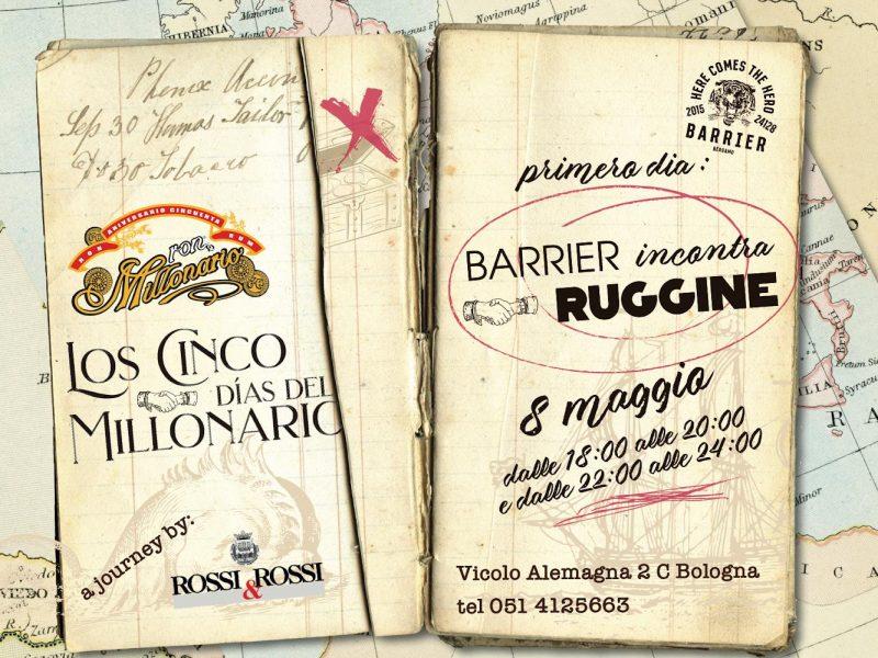 Los Cinco Dìas delMillonario – Ruggine 8 Maggio
