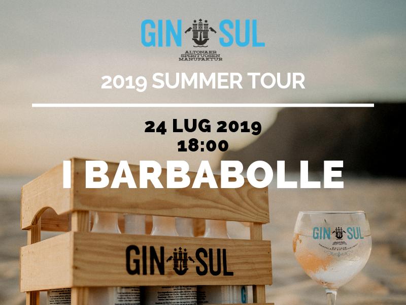 GIN SUL 2019 Summer Tour – 24 Lug – I Barbabolle, Jesolo