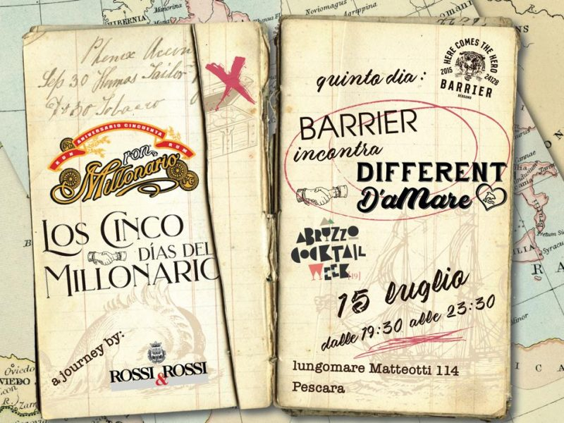 Los Cinco Dìas del Millonario – 15 Luglio – Different d'aMare, Pescara