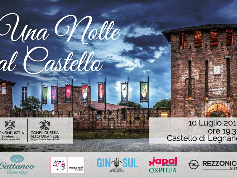 GIN SUL 2019 Summer Tour – 10 Lug – Castello di Legnano