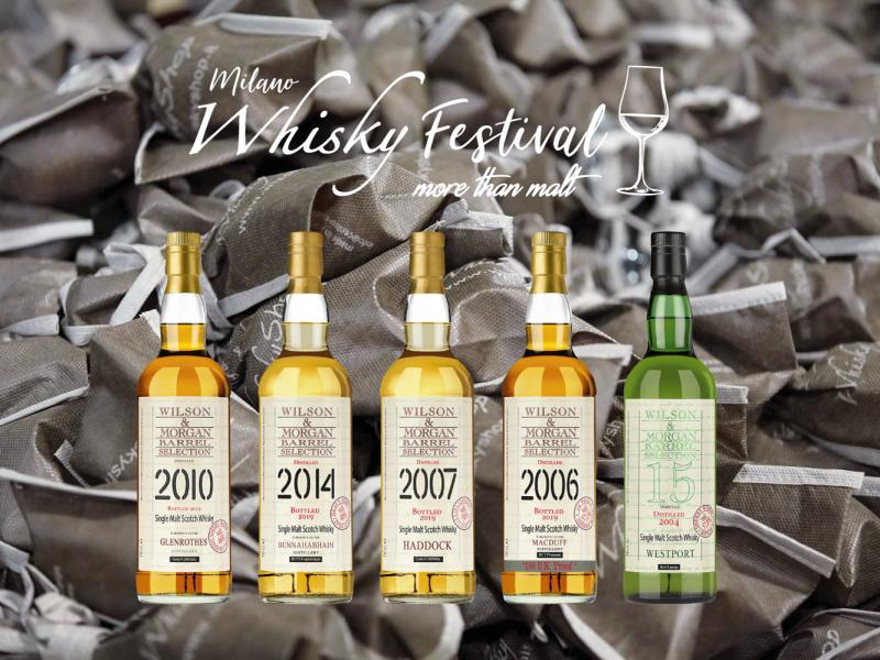 Wilson & Morgan a Milano Whisky Festival 2019