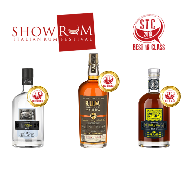 Awards at Show Rum 2019
