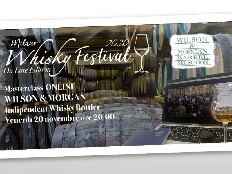 Degustazione Whisky ONLINE  🥃 Wilson & Morgan Single Malt Scotch Whisky
